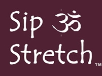Sip & Stretch Logo